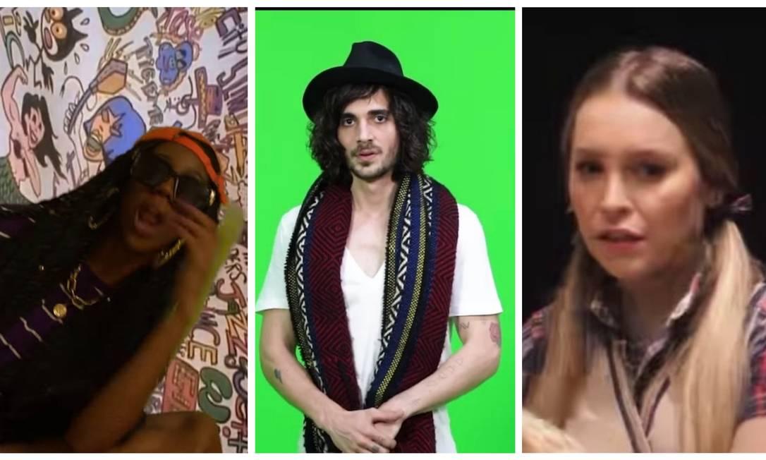 'BBB21': Camilla de Lucas, Fiuk e Carla Diaz investiram pesado em vídeos promocionais antes do confinamento Foto: Instagram / Reprodução