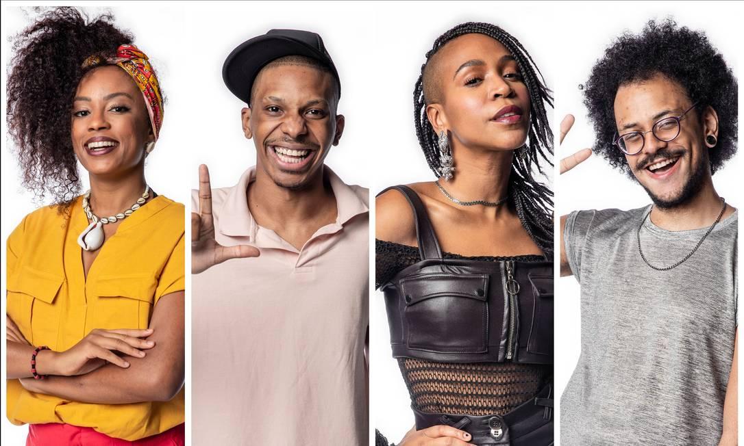 Recorde: 'BBB21' terá nove participantes negros. Entre eles, Lumena, Lucas Penteado, Karol Conká e João Luiz Foto: Fábio Rocha / TV Globo