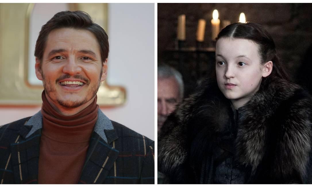 Pedro Pascal e Bella Ramsey: nomes escolhidos para a adaptação da HBO para os games 'The last of us' Foto: Divulgação