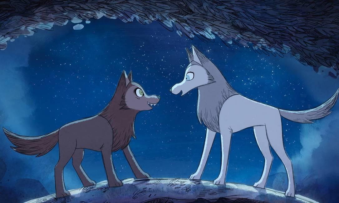 Dança com lobos: 'Wolfwalkers' mostra uma história sobre amizade, liberdade e preservação ambiental Foto: Divulgação