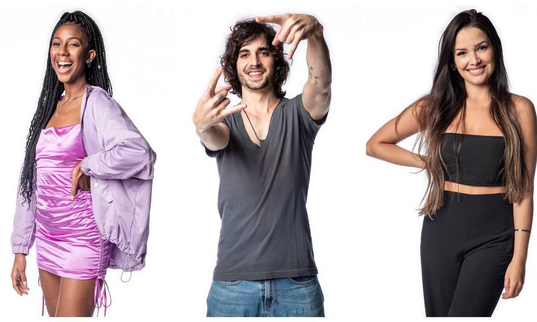 Camilla de Lucas, Fiuk e Juliette: finalistas do 'BBB 21' têm trajetória de altos e baixos na casa Foto: TV Globo / Divulgação