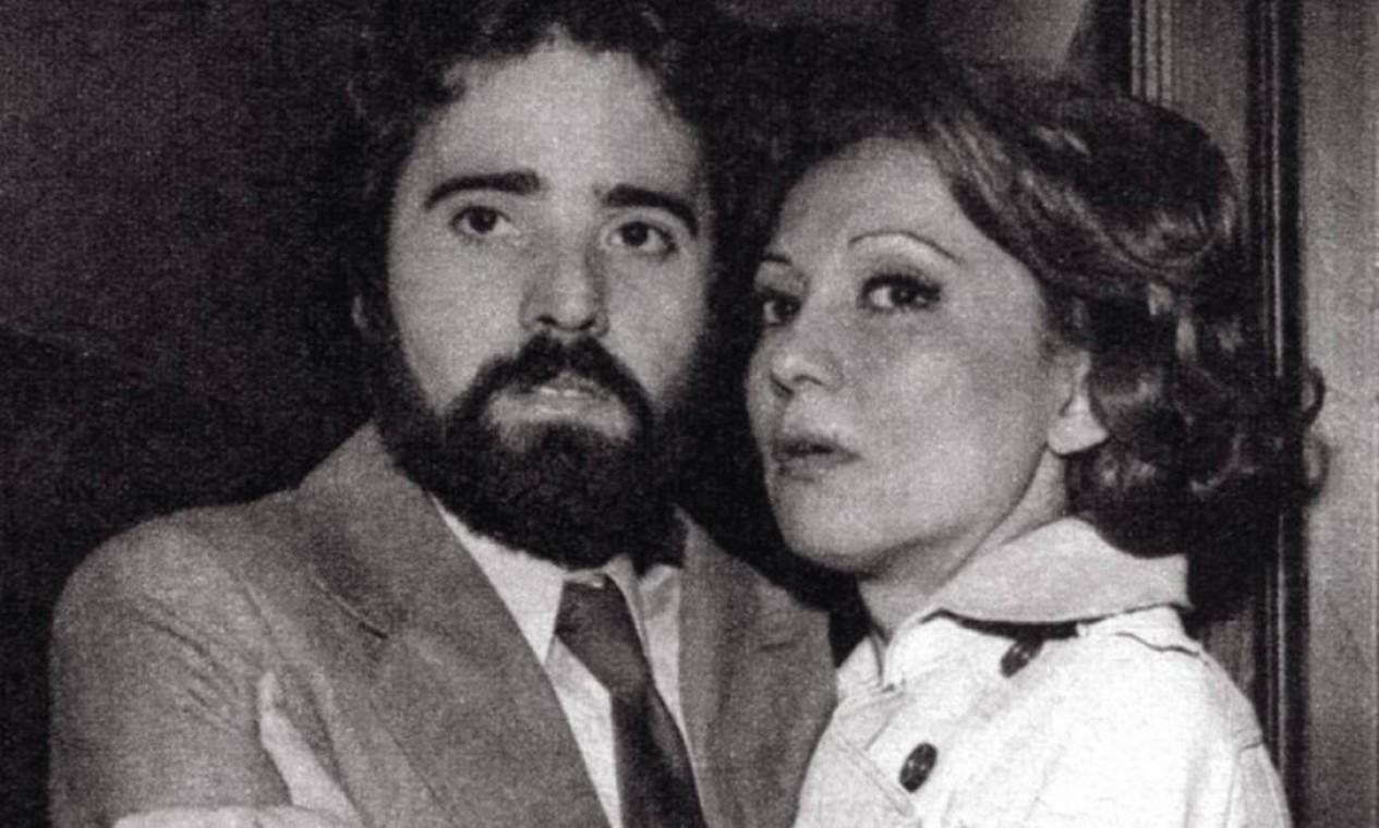 Eva Wilma interpretou a personagem Dinah na primeira versão de 'A viagem' (1975); na foto, ela divide a cena com Tony Ramos Foto: Arquivo