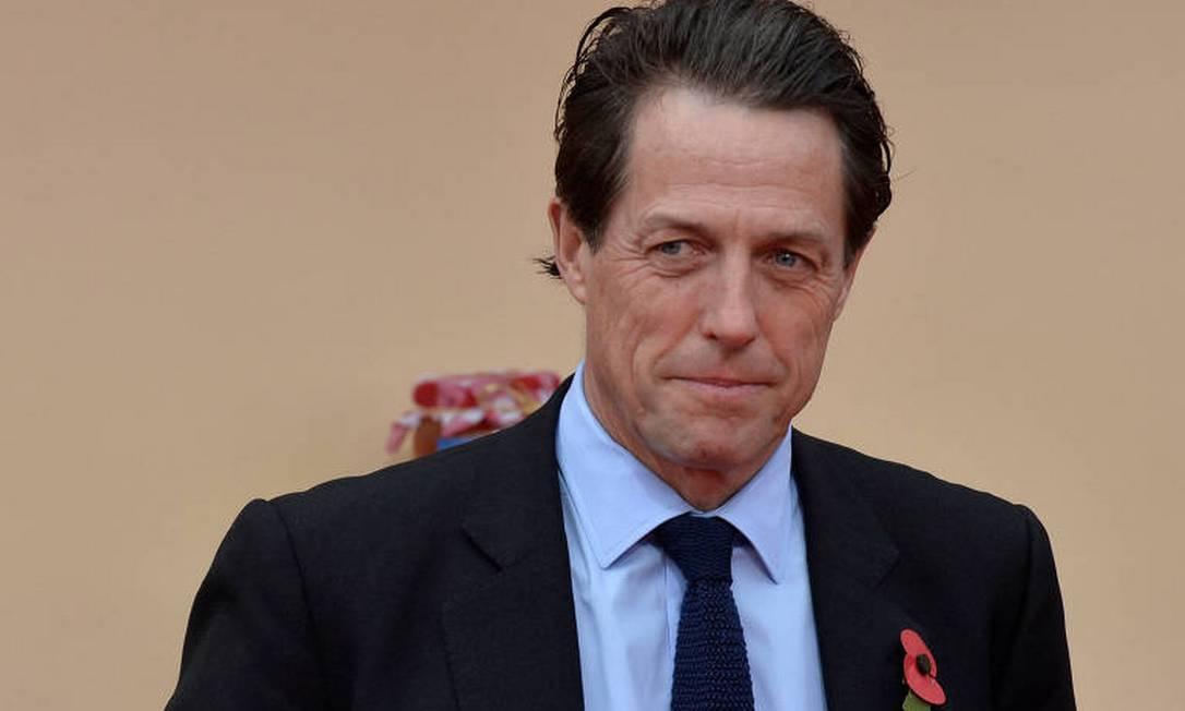 Hugh Grant: ator assinou carta com duras críticas ao governo britânico por suposto desmonte do setor público de TV e radiodifusão Foto: Reuters