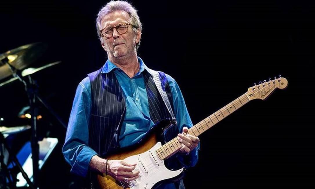 Eric Clapton reclama de ostracismo por discurso negacionista: 'Meu telefone  não toca mais' - Jornal O Globo