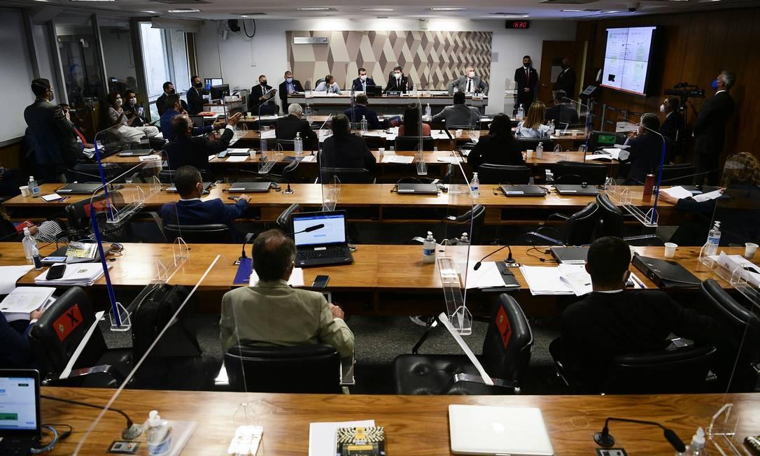 CPI da Covid tem se debruçado sobre informações financeiras de empresários que venderam a Covaxin Foto: Pedro França / Pedro França/Agência Senado