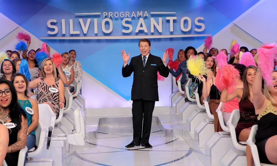 Programa Silvio Santos: atração foi cancelada por uma semana Foto: Divulgação
