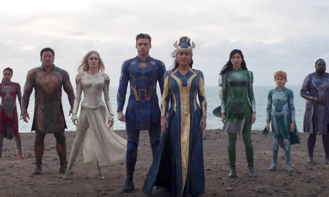 """Filme """"Eternals"""", da Marvel, será lançado em 2021. Foto: Divulgação"""