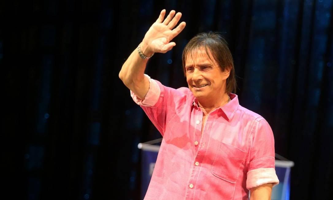 O cantor Roberto Carlos Foto: Guilherme Pinto / Agência O Globo