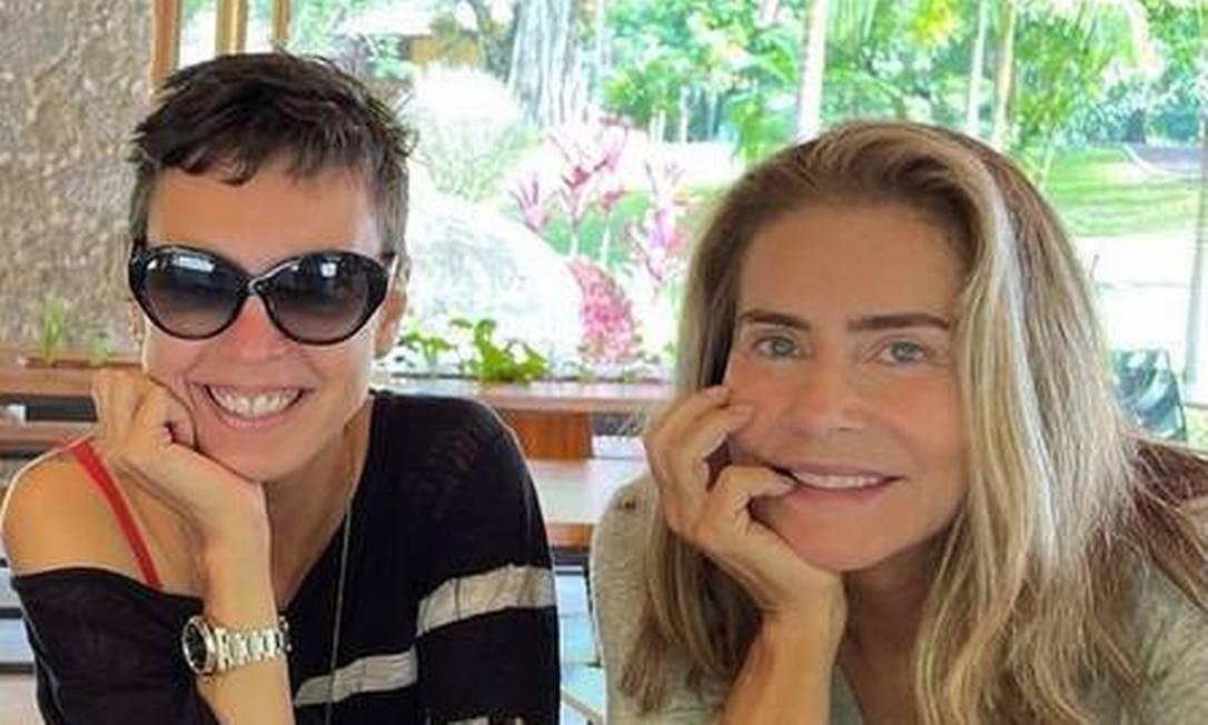 Adriana Calcanhotto e Maitê Proença Foto: Reprodução/Instagram