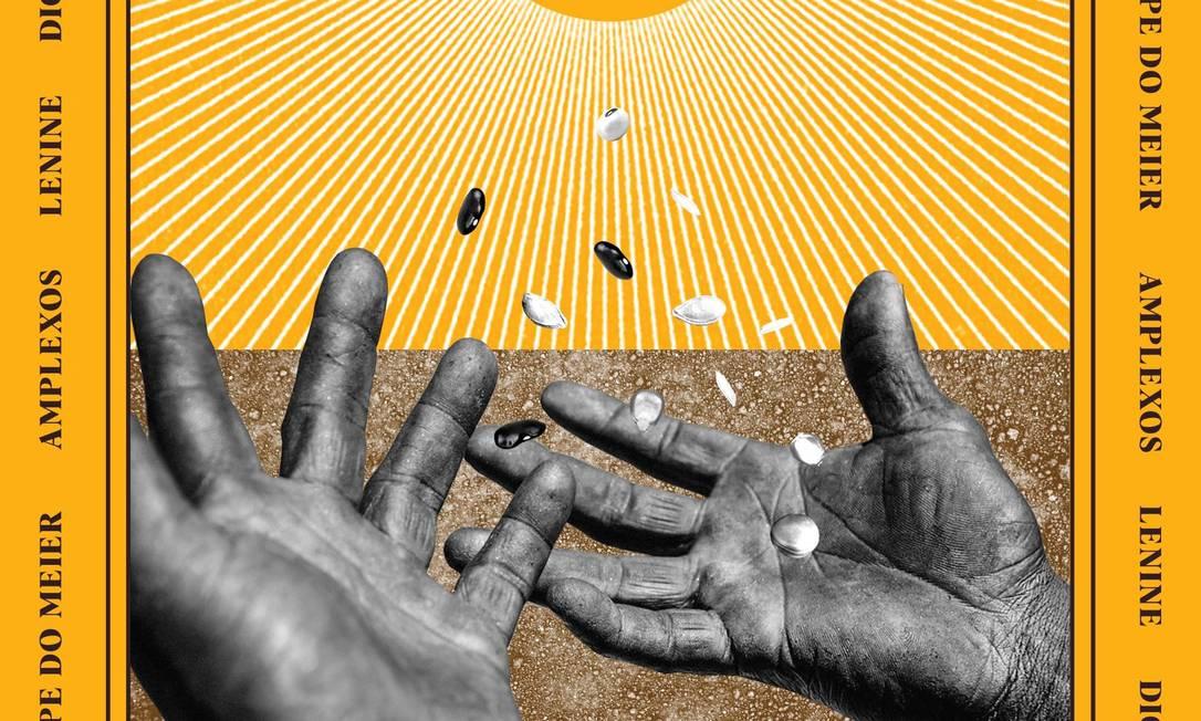 Capa do single 'Segura', da banda Amplexos, com participação de Lenine e Digitaldubs: lançamento do selo musical Leão Etíope do Méier Foto: Reprodução