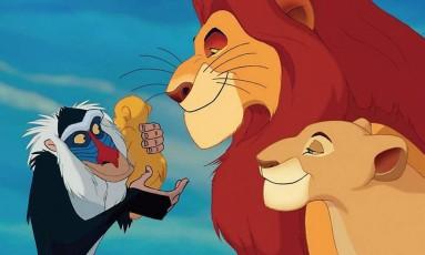 Filme 'O rei leão' Foto: Divulgação