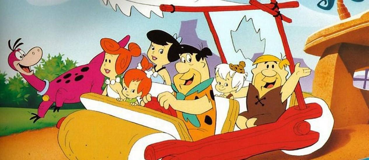 O clássico desenho Os Flintstones ganhará uma nova versão Foto: Divulgação
