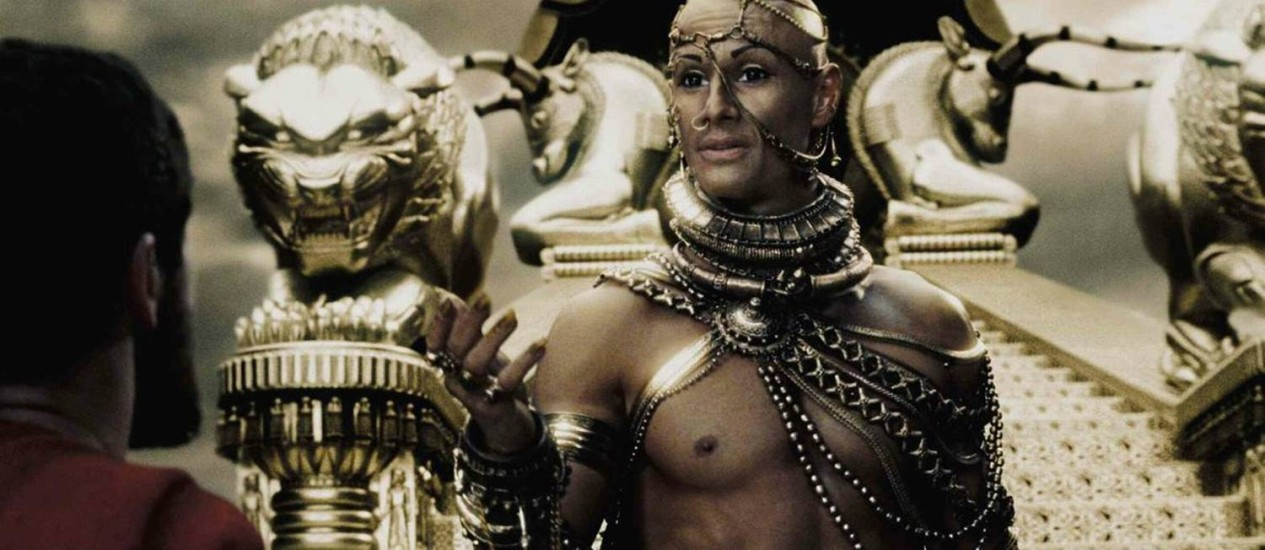 """Rodrigo Santoro filmou em território búlgaro a sequência de seu maior sucesso em Hollywood: o épico """"300"""" Foto: Divulgação"""