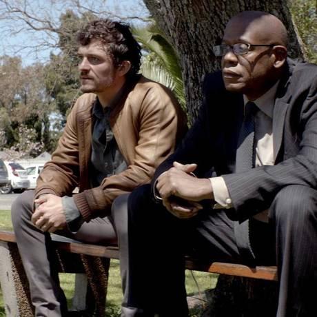Orlando Bloom e Forest Whitaker em 'Zulu', que vai encerrar o Festival de Cannes em 2013 Foto: Divulgação
