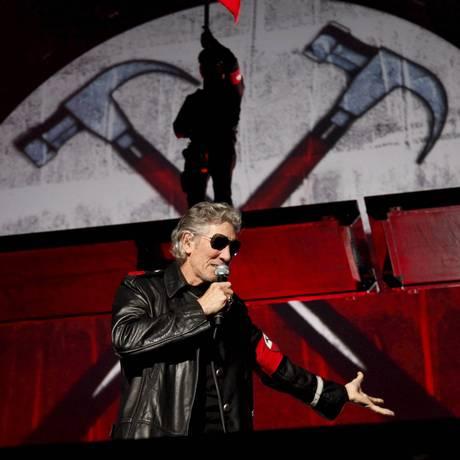 Roger Waters escreveu, junto com David Gilmour e Nick Mason, um editoral em que acusa a rádio virtual Pandora de enganar músicos Foto: Mônica Imbuzeiro
