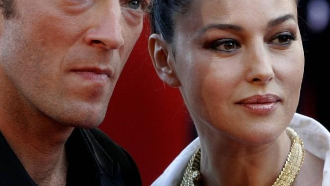 Vincent Cassel e Monica Bellucci Foto: KIRSTY WIGGLESWORTH / AP