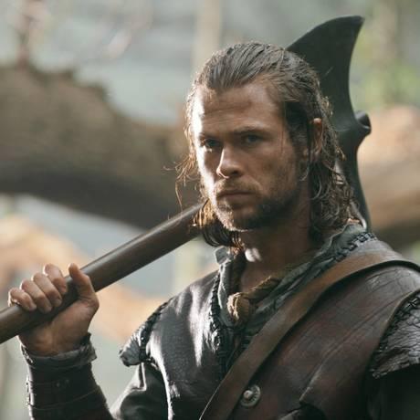 Liam Hemsworth reprisa papel para spinoff de 'Branca de Neve e o Caçador'. Foto Divulgação Foto: Agência O Globo
