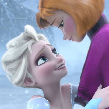 'Frozen': mesmo protagonizado por duas personagens femininas, maior parte dos diálogos é dublada por homens Foto: Reprodução/ Tumblr