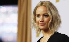 Apesar de ser uma das vozes pela equiparação salarial, Jennifer Lawrence ainda deve faturar menos do que atores Foto: MARIO ANZUONI / REUTERS