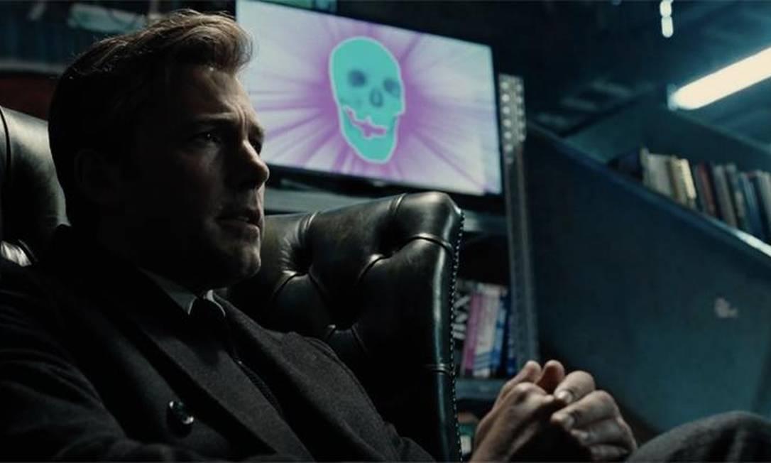 Ben Affleck como Bruce Wayne, o Batman, em 'Liga da Justiça' Foto: Divulgação