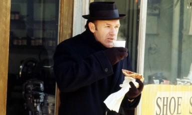Gene Hackman ganhou o Oscar por 'Operação França', de William Friedkin Foto: Divulgação