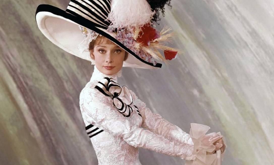 O filme de 1964, estrelado por Audrey Hepburn, faturou as estatuetas de melhor filme, diretor, direção de artes, fotografia, ator, trilha sonora, som e figurino. Foto: Divulgação