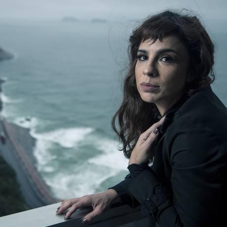 A atriz e escritora Maria Ribeiro Foto: Leo Martins / Agência O Globo