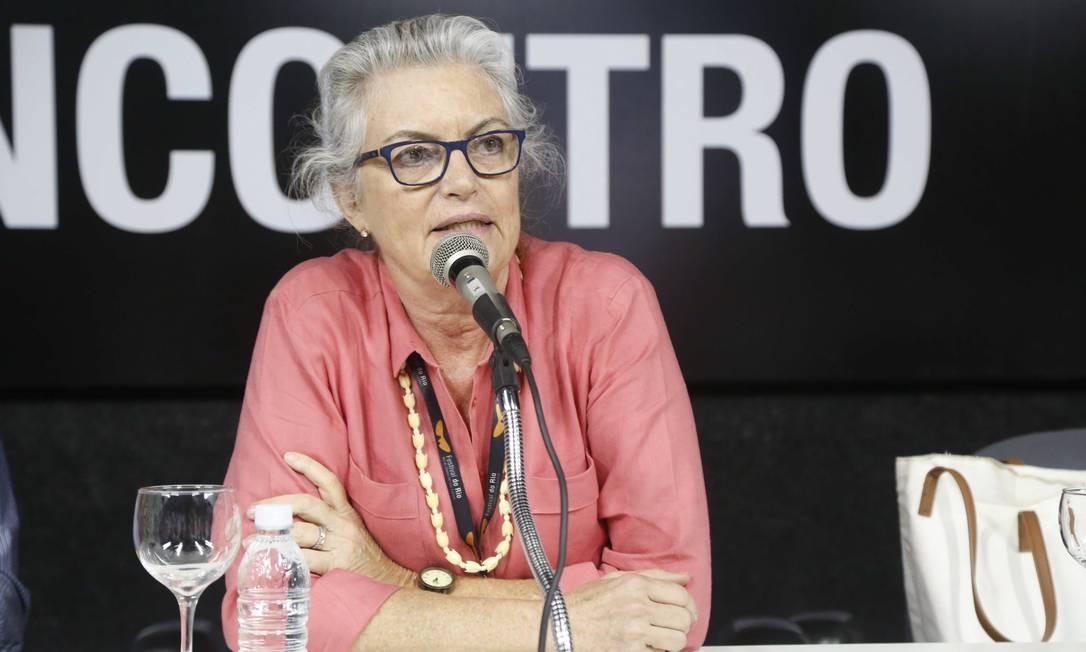 Silvia Rabello, em retrato de 2014 Foto: Ana Branco / Agência O Globo/1-10-2014
