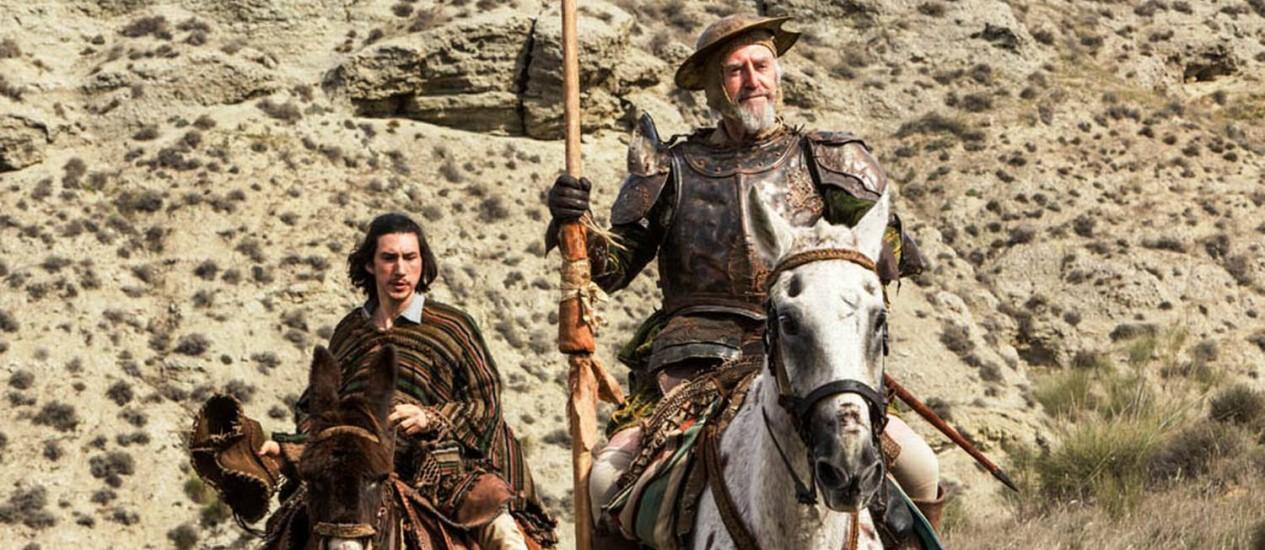 """Cena do filme """"The man who killed Don Quixote"""" Foto: Divulgação"""