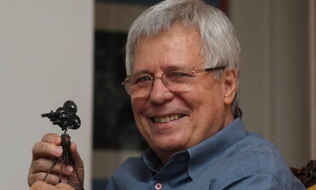 O cineasta Roberto Farias em retrato de 2009 Foto: Fábio Guimarães / Agência O Globo