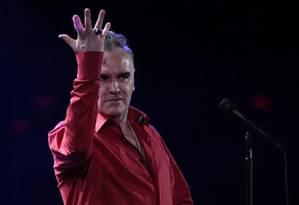 O cantor Morrissey Foto: AP