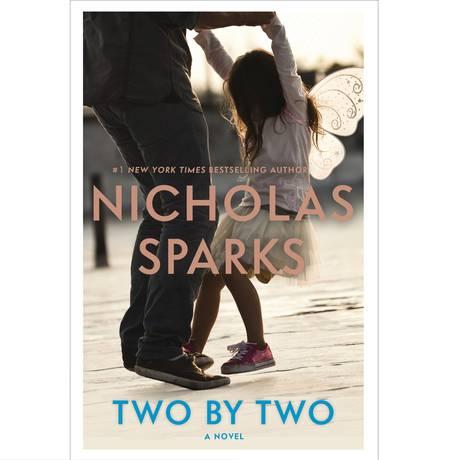 Capa do novo livro de Nicholas Sparks Foto: AP