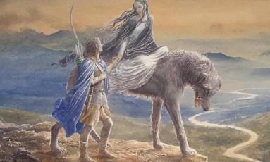 Capa do novo livro de Tolkien Foto: Reprodução