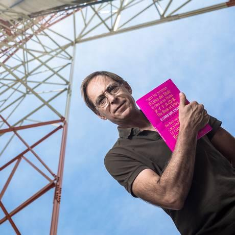O ator e escritor Pedro Cardoso em São Paulo Foto: Keyni Andrade / O Globo