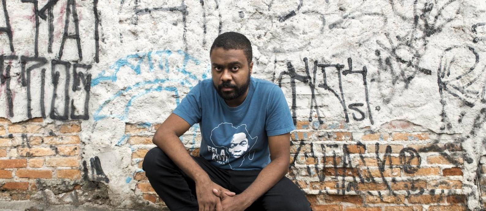"""Para Marcelo D'Salete, a abolição da escravidão """"não aconteceu com uma canetada"""" Foto: Rafael Roncato / Divulgação"""