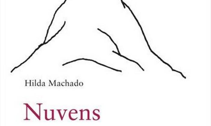 """Capa do livro """"Nuvens"""", de Hilda Machado Foto: Divulgação"""