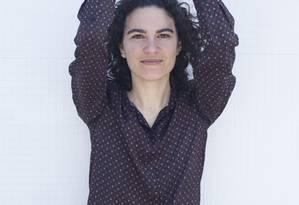 """A poeta Marília Garcia, autora de """"Parque das Ruínas"""" Foto: Renato Parada / Divulgação"""