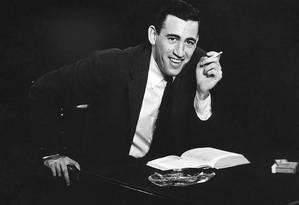 O escritor JD Salinger Foto: Antony Di Gesu / Divulgação