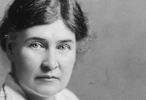 A escritora americana Willa Cather (1873-1947) Foto: Reprodução