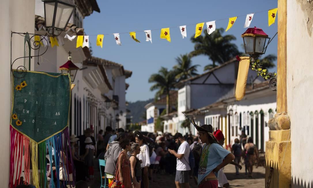 Pela primeira vez, em 18 anos, a Flip vai homenagear um nome estrangeiro: decisão polêmica Foto: Leo Martins / Agência O Globo