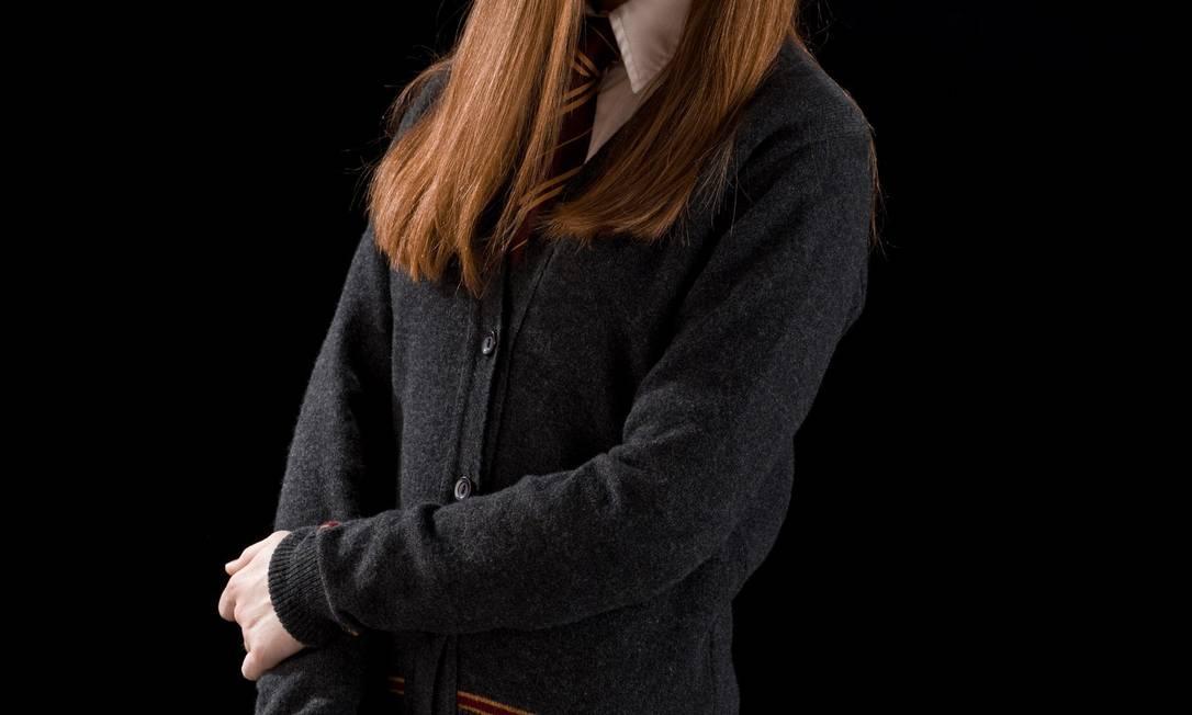 A atriz Bonnie Wright como Gina Weasley em 'Harry Potter' Foto: Divulgação