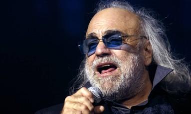 O cantor, no Zenith Music Hall, em Paris, em dezembro de 2006 Foto: Stephane de Sakutin / AFP