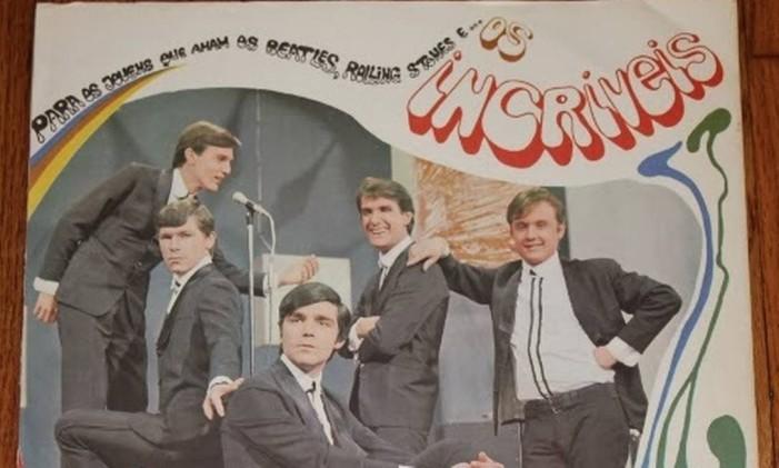 Capa do álbum 'Para os jovens que amam os Beatles, os Rolling Stones... e Os Incríveis' (1967), de Os Incríveis Foto: Reprodução