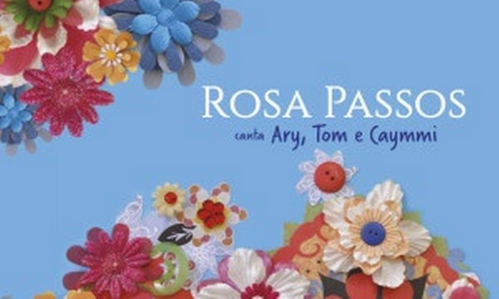 'Rosa Passos canta Ary, Tom e Caymmi', de Rosa Passos Foto: Nicolas / Divulgação