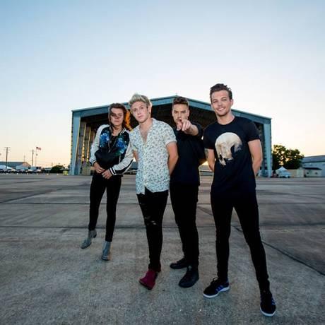 O One Direction Foto: Reprodução/Facebook