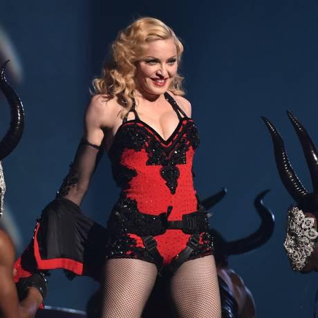 Cantora Madonna tem causado polêmicas em sua passagem por países asiáticos Foto: AP