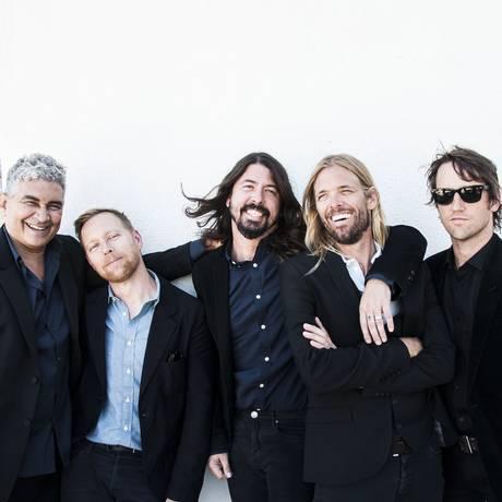Banda Foo Fighters publicou anuncio que desmente boatos de separação Foto: Divulgação