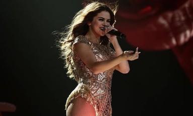 Selena Gomez na turnê 'Revival' Foto: Divulgação