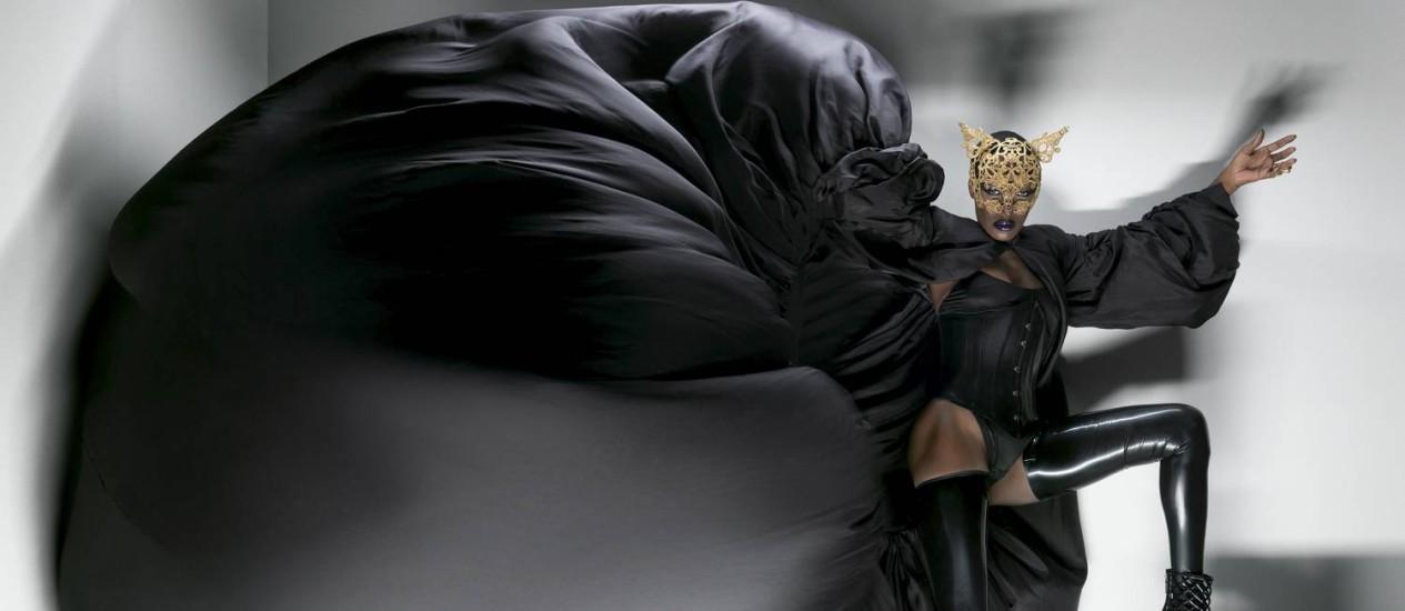 A cantora, compositora, modelo e atriz jamaicana Grace Jones Foto: Kristian Sibast / Divulgação