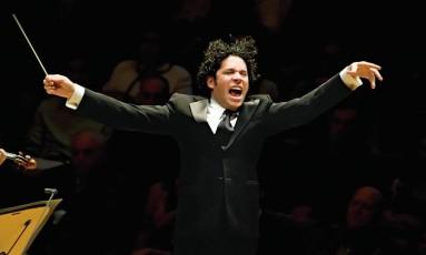 O meastro Gustavo Dudamel Foto: Divulgação